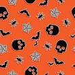 Royalty-Free Stock Imagen vectorial: Halloween pattern