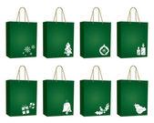 Christmas bags — Stock Vector