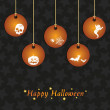 Halloween decorations - Stock Vector