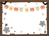Halloween sign — Stock Vector