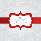 Silver christmas wrapping — Stock Vector