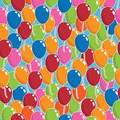 Balloon pattern — Stock Vector
