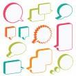 Speech bubbles — Stock Vector #5290191