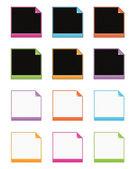Web frames — Stock Vector