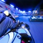 Go-Cart Race — Stock Photo