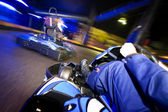 Go-cart in pursuit — Stock Photo