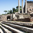 Temple of Castor and Pollux - Stock Photo