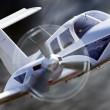 Stock Photo: Small aircraft