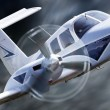 Small aircraft — Stock Photo #4878986