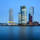 Rotterdam Skyscrapers — Stock Photo