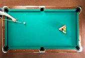 Pool break — Stock Photo