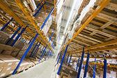 Storage racks — Stock Photo