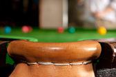 Snooker pocket — Stock Photo