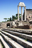 Temple of Castor and Pollux — Stock Photo