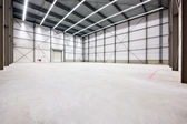 Warehouse interior — Stock Photo