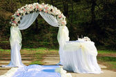 Wedding arch — Stock Photo