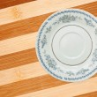 ceramic plate — Stock Photo