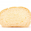 Stock Photo: Bread over white background