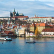 prag castle — Stock Photo