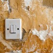 Old light switch — Stock Photo