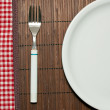 Empty plate — Stock Photo