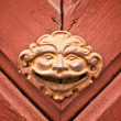 Stock Photo: Door detail