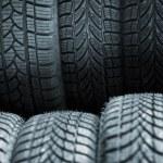 Car tires — Stock Photo #5357977