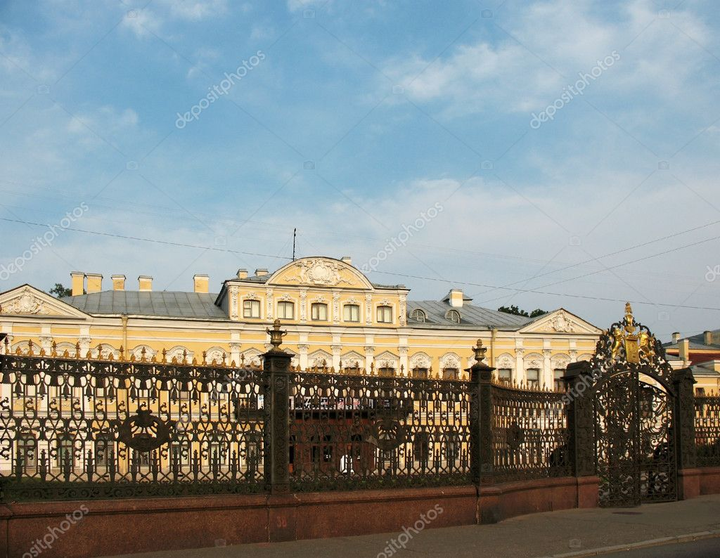 Sheremetev Palace - Fountain home, St. Petersburg — Stock Photo #4605102