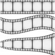 Set of Three Filmstrips — Stock Vector #4380180