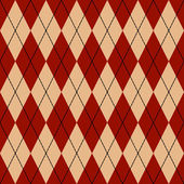 Naadloze argyle patroon — Stockvector