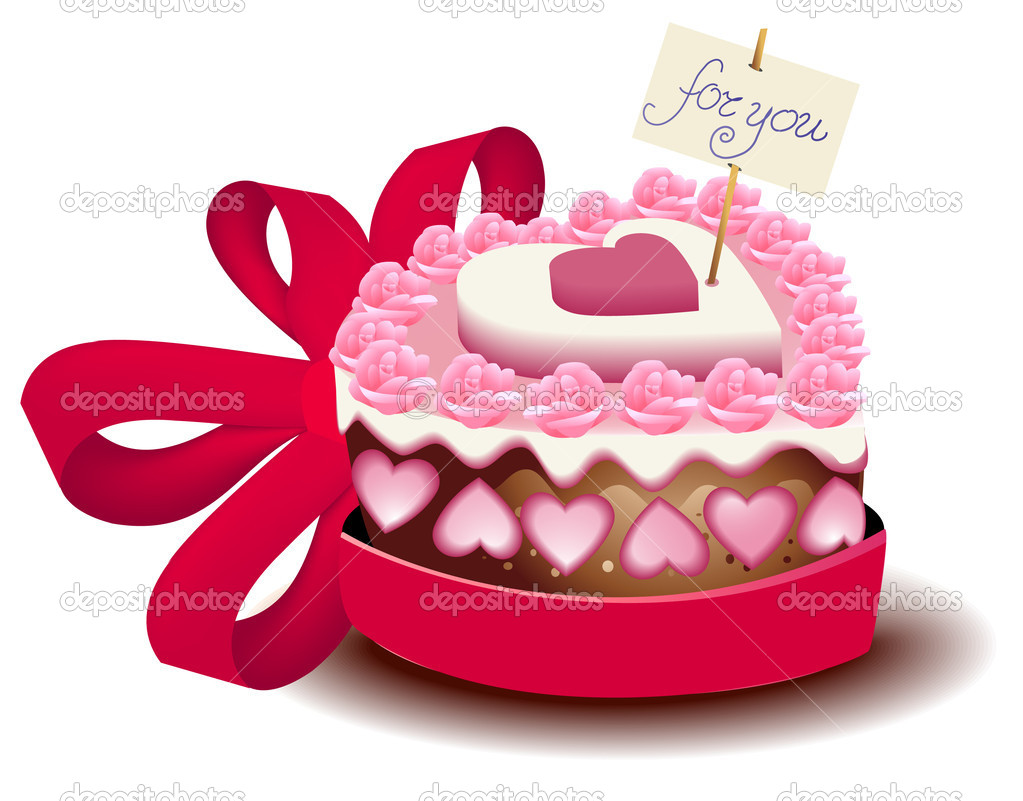 Download Love Cake Images : Love cake   Stock Vector ? agnieszka #5050080