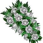 Wedding bouquet — Stock Vector