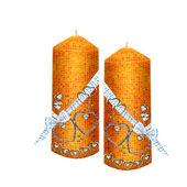 Kaarsen — Stockvector