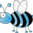 Stock Photo: Blue bee