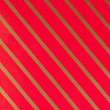 Striped red gift paper — Stockfoto