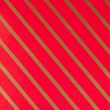 Striped red gift paper — Stock fotografie