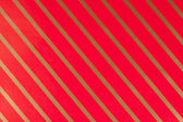 Striped red gift paper — Stock Photo
