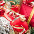 Holiday ornaments and gifts — Stock Photo #4222744
