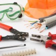 Electrician's tools - Stockfoto