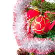 Christmas ornaments on tree — Stock Photo #4772670