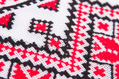 Ukrainian traditional embroidery patterns — Stock Photo