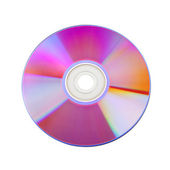 Close-up of colorful CD — Stock Photo