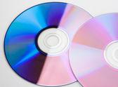 Bunte cds — Stockfoto
