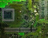Computer electronic circuit — Stock Photo