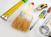 Heap of tools — Stock Photo