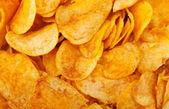 Kızarmış patates cipsi Close-Up — Stok fotoğraf