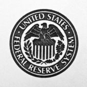 Federal Reserve System symbol — Stock Photo