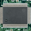 Stock Photo: Computer electronic chip