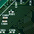 Stock Photo: Computer electronic circuit