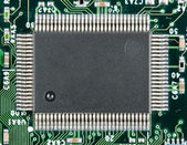 Computer electronic chip — Stock Photo